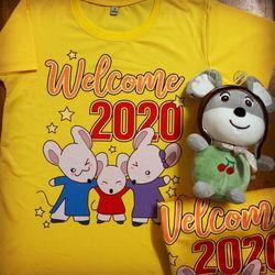 áo thun nam nữ ngày tết 2020 giá sỉ