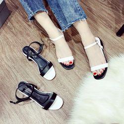 Giày sandal đế vuông phối đẹp giá sỉ