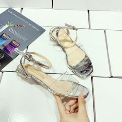 Giày sandal mica bản trong giá sỉ