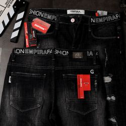 Quần Jeans Nam Teen Rách Phong Cách Lạ giá sỉ