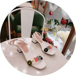 Giày sandal bản kết hoa siêu xinh giá sỉ