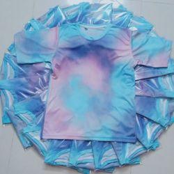 Áo đồng phục in 3d vải thun lạnh đẹp đủ màu đủ size 6-110kg giá sỉ