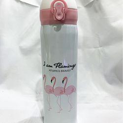 Bình giữ nhiệt hình hạc hồng loại inox dày tốt GD0041