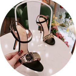 Giày sandal cao gót đồng hồ giá sỉ