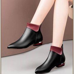 Giày boot nữ phong cách châu âu sang chảnh