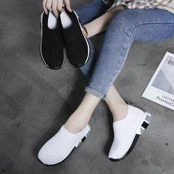 Giày bata đế khứa phối màu cực hot