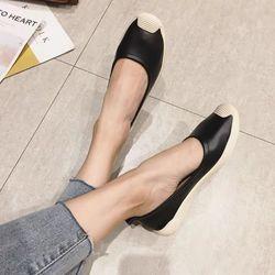 Giày mọi trơn da