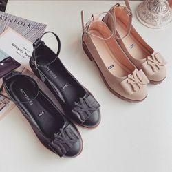 Giày mọi đế cao da xịn