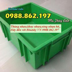 khay nhựa hà nội B3thùng nhựa giá rẻ B3 thùng nhựa màu xanh lá thùng nhựa đặckhay đựng bulong khay nhựa giá rẻ giá sỉ