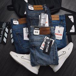 Quần jeans nam SW slim fit