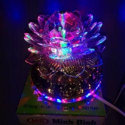 Đèn hoa sen trang trí gian thờ mẫu MB2004 giá sỉ