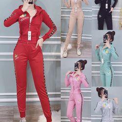 Bộ đồ thể thao nữ hotgirl adi TT340 giá sỉ