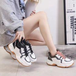 Giày bata đế thô phối màu