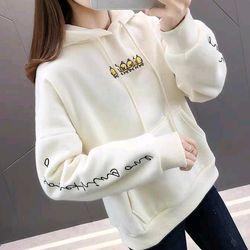 Áo hoodie nỉ vàng trắng giá sỉ