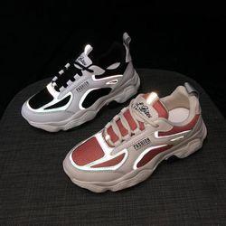 Giày bata phản quang phối màu siêu hot