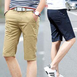 Quần shorts nam kaki trơn dể phối đồchất liệu thấm mồ hôi-400 giá sỉ