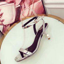 Giày sandal cao 5f bản gót ngọc giá sỉ