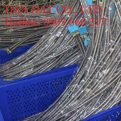 Dandatflex códây cấp nước mềm inox 304/dây dẫn nước inox 304/dây dẫn nước nóng lạnh inox 304/ống mềm dẫn nước inox giá sỉ