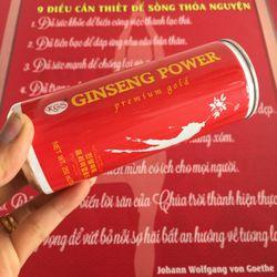 NƯỚC HỒNG SÂM TĂNG LỰC GINSENG POWER KGS HÀN QUỐC THÙNG 24 LON giá sỉ