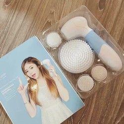Máy rửa mặt cọ Nano Flawless - Công nghệ Nhật Bản giá sỉ giá bán buôn giá sỉ