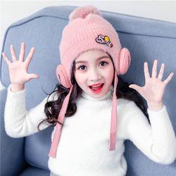 Mũ len lông cừu trẻ embé 2-9t giá sỉ