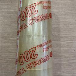 Cuộn Băng Keo Trong Khổ 50mmx125m lõi 4mm cây/6 cuộn giá sỉ
