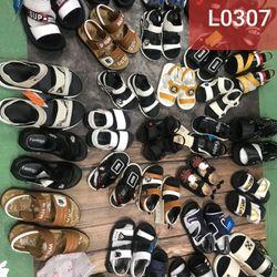 Lô 30 đôi sandal trẻ em L0307 giá sỉ