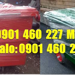 Mua xe thu gom rác 1000L màu đen y tếthùng rác 660 lít 4 bánh xe HDPExe đẩy rác 660 lít giá rẻ nhựa công nghiệp giá sỉ
