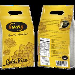 gạo sạch Lanny gold rice Dẻo thơm vị ngọt và dai cơm Gạo từ giống lúa ST25 ngon nhất Thế giới giá sỉ