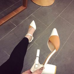 Giày sandal bit mui da đ