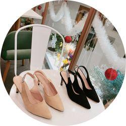 Giày cao gót tag dây đá