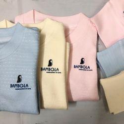 bộ đồ thu đông cho bé vải nỉ ánh kim Bambola