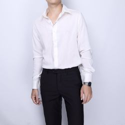 somi tay dài vải đũi màu trắng giá sỉ