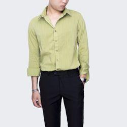 somi tay dài vải đũi màu xanh lá giá sỉ
