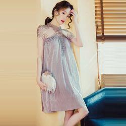 Đầm Kim Tuyến Rũ Dập Li Đính CườmSang Trọng giá sỉ
