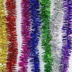 sỉ Dây kim tuyến trang trí Giá sỉ 3k/1 dây Dài 1 mét Rộng 5cm 3k