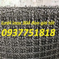 lưới inox 304-lưới inox 201-lưới inox 316 chống côn trùng giá sỉ