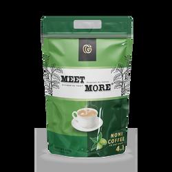 Cà phê nhàu hòa tan Meet More 900g Bịch 50 Gói giá sỉ