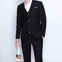 vest nam cao cấp chất vải cực đẹp màu đen giá sỉ