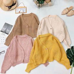 Áo cardigan len móc nhiều màu giá sỉ