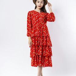 Đầm nữ sắc đỏ xuân giá sỉ