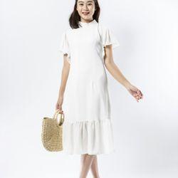 Đầm nữ trắng tinh khôi sang trọng giá sỉ