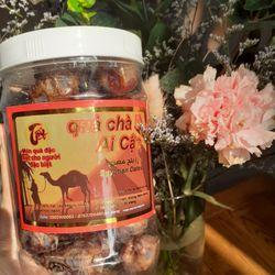 Hộp 500g mứt chà là sấy dẻo Ai Cập ngọt tự nhiên không đường dùng ăn vặt làm sữa hạt giá sỉ