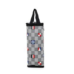 Túi giữ nhiệt bình nước caro lá cờ màu xám giá sỉ