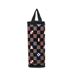 Túi giữ nhiệt bình nước caro lá cờ màu nâu giá sỉ