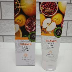 Sữa Rửa Mặt Sạch Sâu Vitamin Ecosy