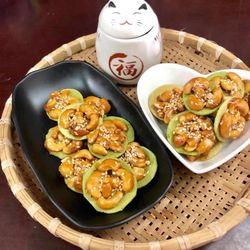 Bánh Hạt Điều Lá Dừa 500gam giá sỉ