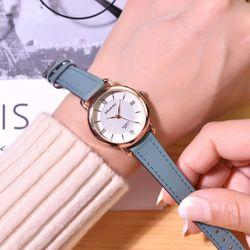 Đồng hồ nữ Doukou ánh dạ quang dây da cao cấp giá sỉ