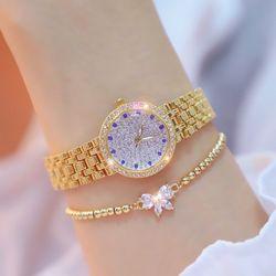 Đồng hồ nữ Bee Sister đính đá cao cấp 3 màu giá sỉ