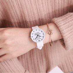 Đồng hồ nữ Lovely cat dây silicon xinh xắn giá sỉ